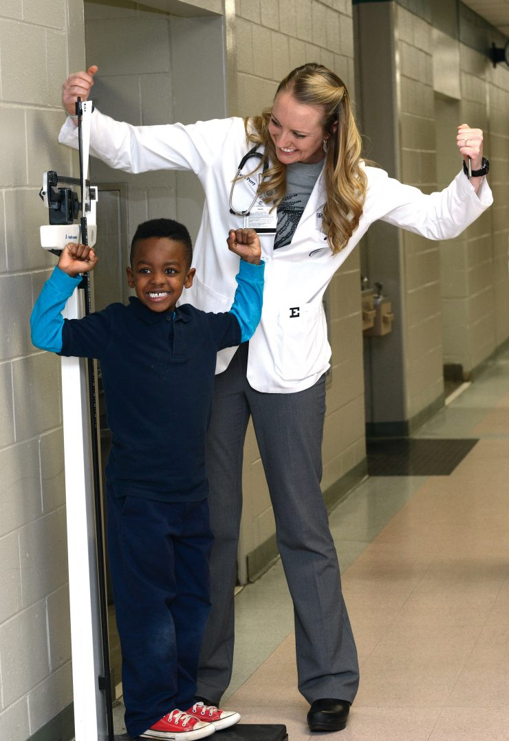 free physicals for schoolchildren