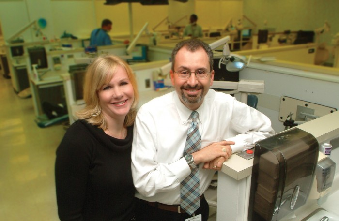Dr. Kate Ciarrocca and Dr. Scott de Rossi