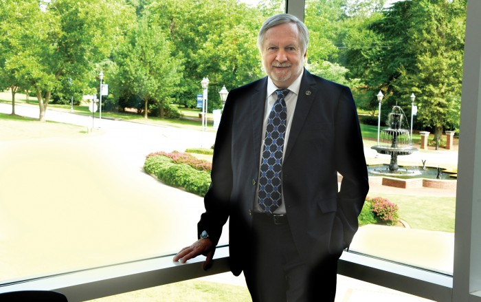 President Brooks Keel