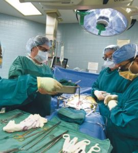 Transplant team led by Dr. Todd Merchen