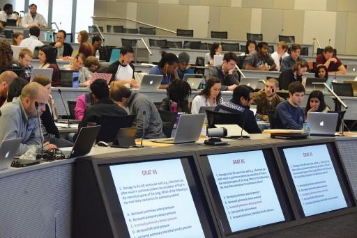 Inside the J. Harold Harrison, M.D. Education Commons
