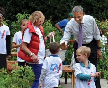 Donna Martin meets President Obama