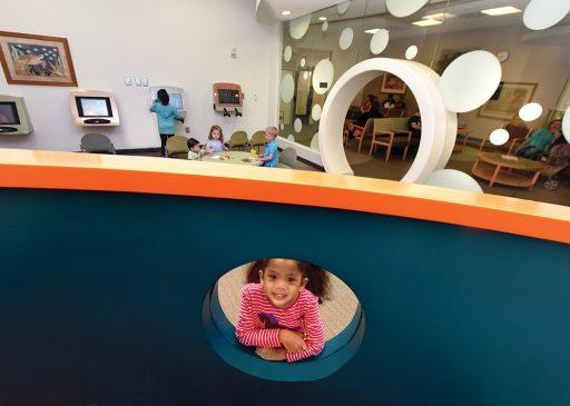 pediatric dentistry and othodontics waiting room