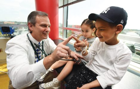 children with doctor