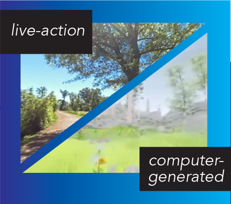 live-action vs. computer-generated