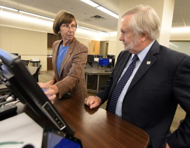 Joanne Sexton and Brooks Keel at the Cyber Institute