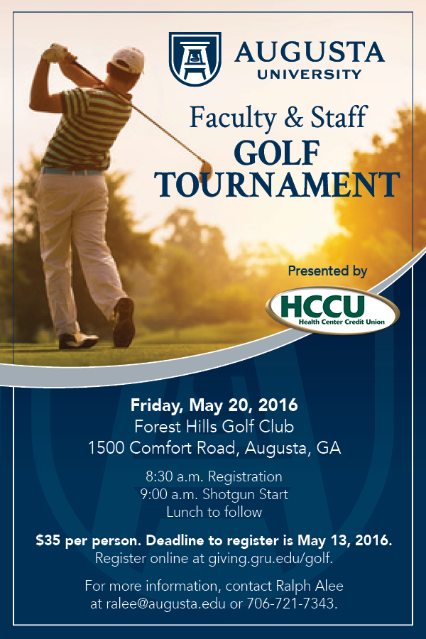 16062 faculty staff golf outing invitation