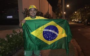 Me with Brazilian Flag 2a