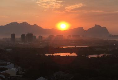 Sunrise over Rio