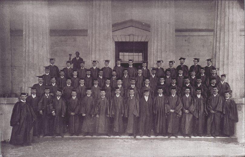 MCG graduation 1899