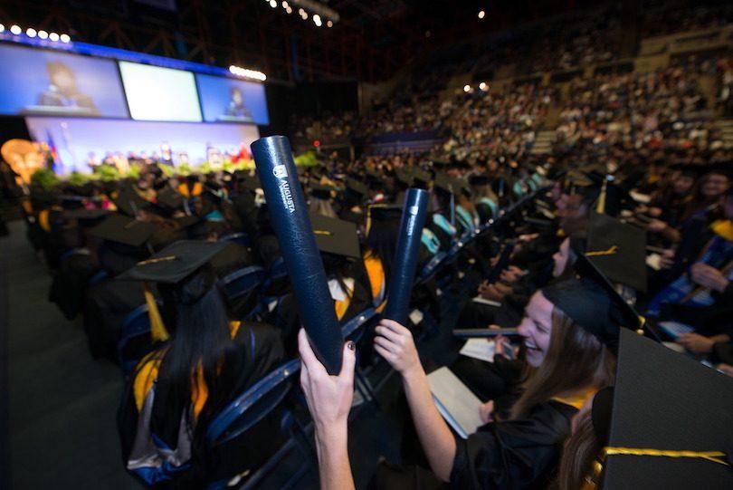 Augusta University December 2016 graduation