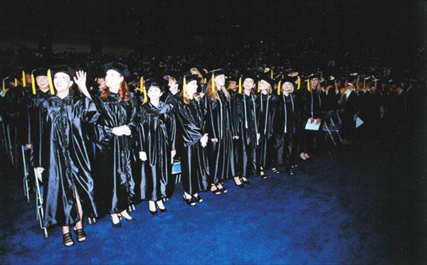 Augusta State University 1998 graduation