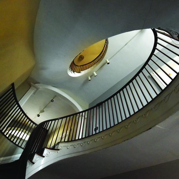 inside Gertrude Herbert Institute of Art