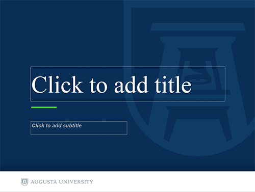 Powerpoint templates augusta university powerpoint templates toneelgroepblik