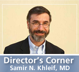 Director's Corner: Samir N. Khleif, MD