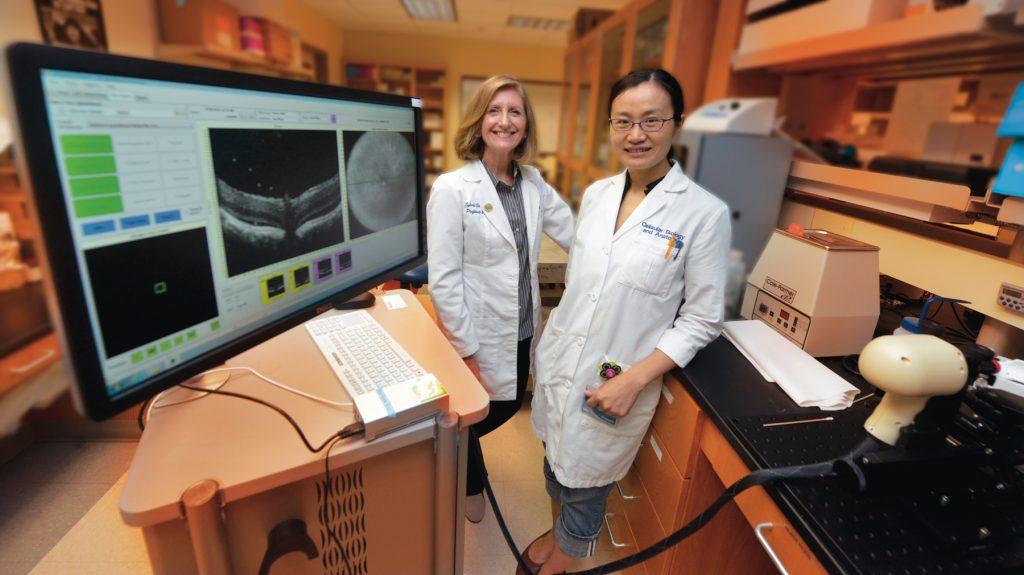 Drs. Sylvia Smith and Jin Wang