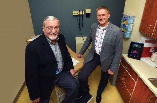 Drs. Abdullah Kutlar and Robert Gibson.