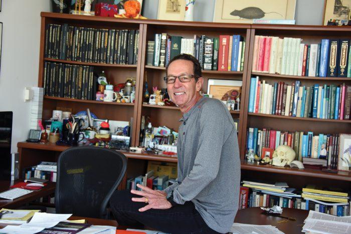 MCG's Chair of Physiology Dr. Clinton Webb.