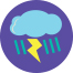 Astraphobia—fear of lightning