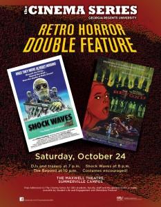 Retro Horror Double Feature 840X1080