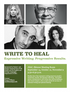 Write to heal