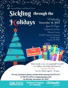 Sickling through the holidays image