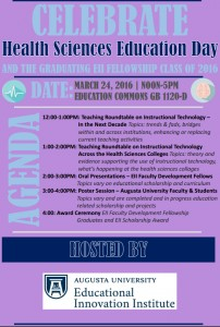 Health Sciences Education Day Flyer