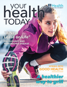 Baker's story was featured in Your Health Today. Click here to read more.