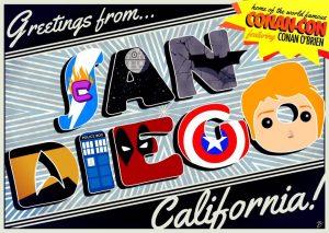 Conan Comic-Con Art - Baillie Conway
