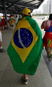 Me with Brazilian Flag 1a