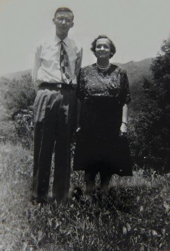 Jones and his mother, Lutie Mae Greene Jones.